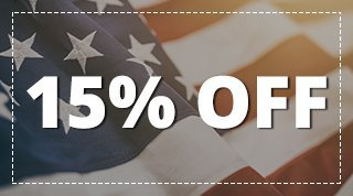 15% Off Any Service for Military, Police and Fire Personnel