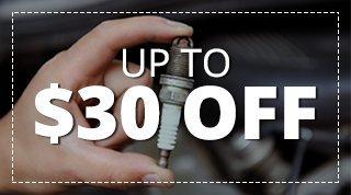 $30 Off 8-Cylinder, $20 Off 6-Cylinder, $10 Off 4-Cylinder Tune-Ups